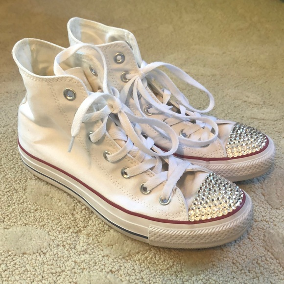 Converse Shoes   White Hightop
